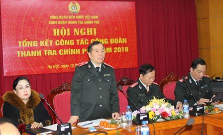 Hội nghị tổng kết công tác năm 2018 Công Đoàn TTCP