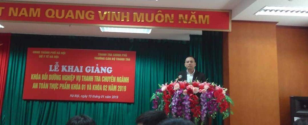 TS Đỗ Hữu Tuấn Phó Cục trưởng Cục An toàn Thực phẩm Bộ Y tế