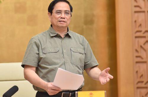 Thủ tướng yêu cầu thống nhất 1 app (ứng dụng) trong phòng chống dịch để thuận tiện nhất cho người dân