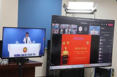 Khai giảng Lớp nghiệp vụ Thanh tra viên khóa 08 năm 2021