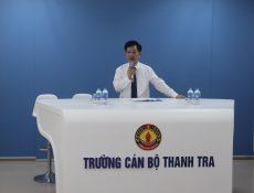 Khai giảng lớp Nghiệp vụ Thanh tra viên chính khóa 12 năm 2021 theo hình thức trực tuyến